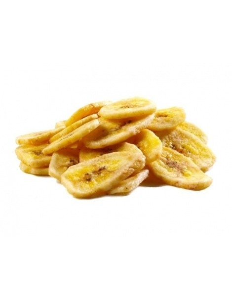 Plátano Seco en rodajas
