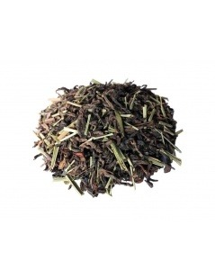 Roter Tee Pu-Erh Zitrone und Minze