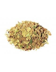 Tee aus Linden-Blätter